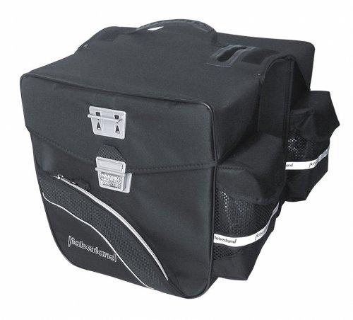 Doppeltasche Haberland Touring 6000 schwarz, 32x31x16cm, 33 ltr