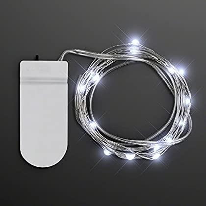 80″ Cool White LED Battery Operated Craft String Lights