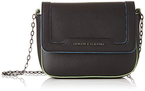 (A|X Armani Exchange Women's Big Crossbody Bag, nero - black 225)