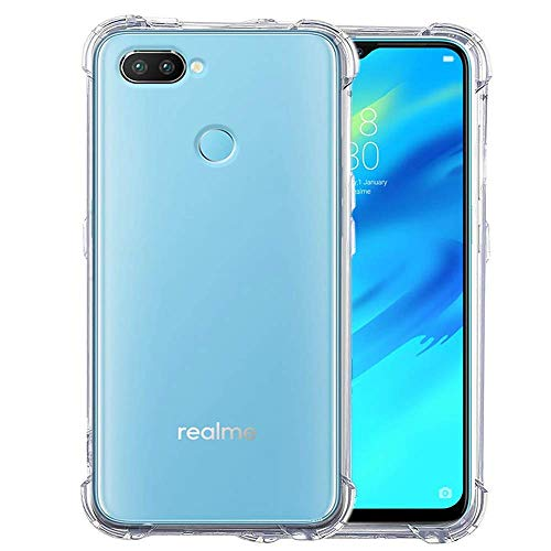 DRaX Transparent Back Cover for Realme 2 Pro