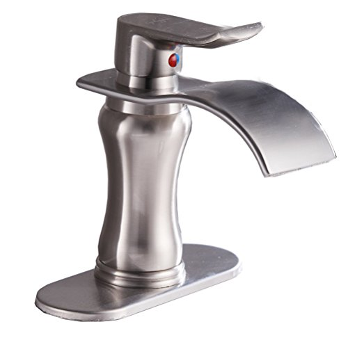 vessel faucet brushed nickle - 5