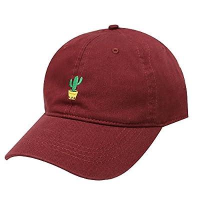 City Hunter C104 Cute Cactus Cotton Baseball Dad Cap 19 Colors