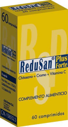 Redusan Plus Forte Chitosan Captagrasas 60 Comp 1150mg From Spain