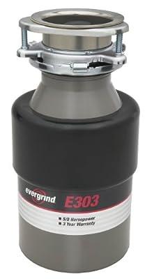 Insinkerator E303 5/8 hp Garbage Disposer