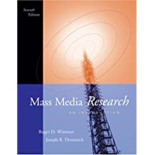 Mass Media Research: An Introduction (with InfoTrac)