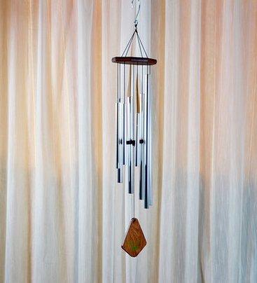 Der silberne Metall campanula 12 - kreativen zu hause für campanula nach Feng - shui ornamente campanula - geschenk