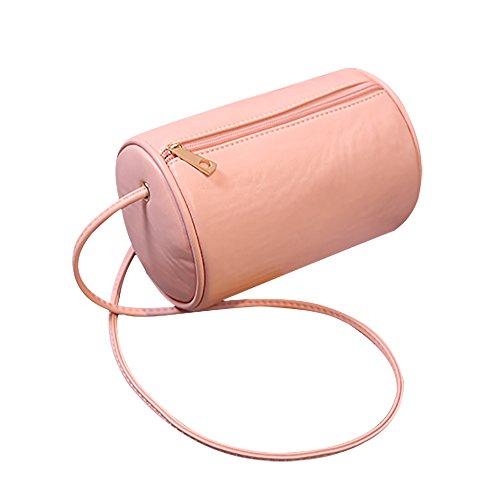 Tong Yue - Bolso cruzados para mujer, marrón (marrón) - TYUK0480-1 rosa