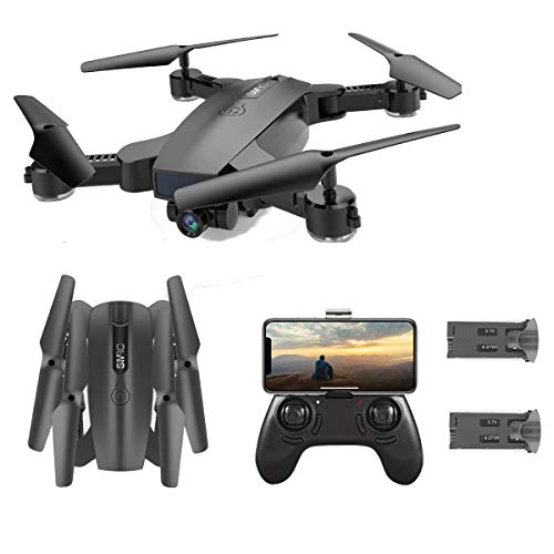 SGOTA RC Drone with Dual 720P HD 2mp Cameras Foldable FPV WiFi...