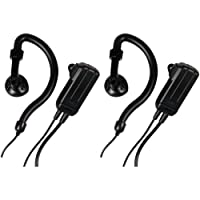 Midland AVPH4 Ear-Clip Headsets for Midland GMRS Radios (Pair)