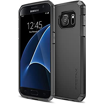new style 63a1d 4f742 Galaxy S7 Case, Trianium [Protak Series] Ultra Protective Cover Case for  Samsung Galaxy S7 [Black] Dual Layer + Shock-Absorbing Bumper Hard Case