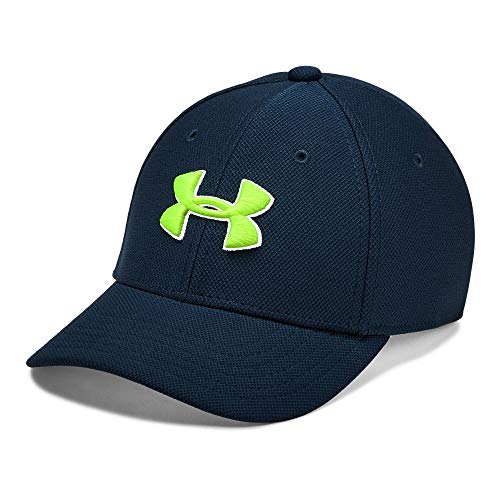 Under Armour Boy's Blitzing 3.0 Cap, Academy//Academy, Small/Medium