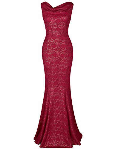 MUXXN Ladies Deep V Back Neck Flattering Slim Maxi for sale  Delivered anywhere in Canada