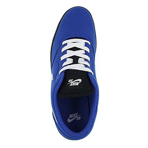 Nike Mens Sb Check Cnvs Gioco Di Scarpe Da Skate Royal / Bianco / Nero