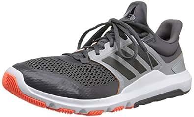 adidas Performance Men's Adipure 360.3 M Training Shoe, Granite Grey/Black/Solar Orange, 6.5 M US