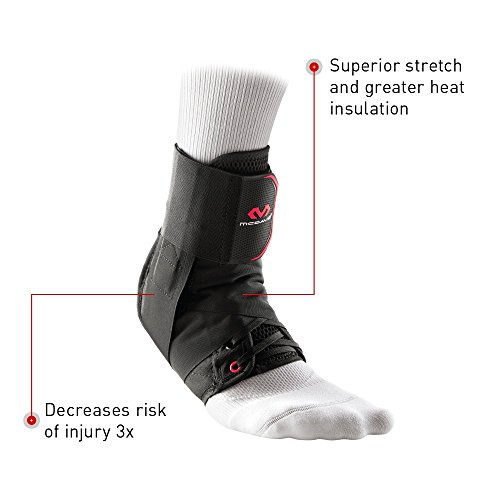McDavid Level 3 Ankle Brace with Straps, Gray, X-Large by McDavid (Image #6)
