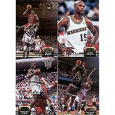 1992 Topps Stadium (1992 / 1993 Topps Stadium Club Basketball Complete Mint Hand Collated 400 Card Set; It Was Never Issued in Factory Form. Loaded with Stars Including Larry Bird, Michael Jordan, Pippen Plus Rookie Cards of Shaquille O'Neal, Latrell Sprewell, Alonzo Mourning and Others!)