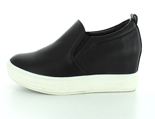 Womens Black Wedge Wanted 10 Pocono SvxwCqdzwA