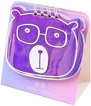 NO LOGO H-OUO Kalender, 2020 Desk Calendar Planer, Kalender Series Tischkalender DIY Mini Coil-Kalender Tagesterminplaner for Haus und Heim oder Büro-Schreibtisch,Für Geschenk