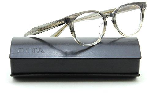 Dita AMORA Unisex Oval Prescription RX-able Eyeglasses Frame 3028-A , - Eyewear Dita