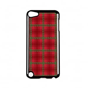 Tartan Red Black Hard Plastic Case Snap-On Protective Back Cover for Apple? iPod Touch 5th Gen by Gadget Glamour + FREE Crystal Clear Screen ProtectorKimberly Kurzendoerfer