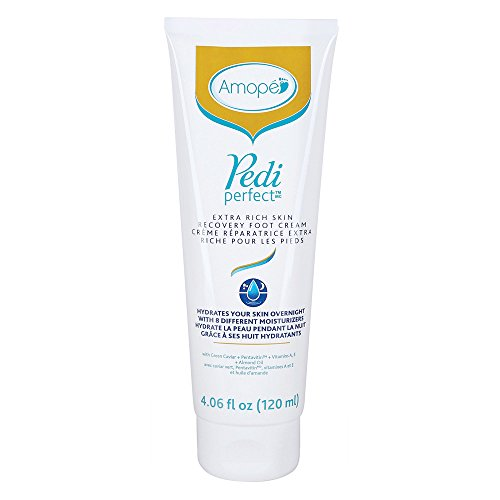 Amopé Pedi Perfect Extra Rich Foot Cream, 4.06 fl. Oz. for Skin Recovery