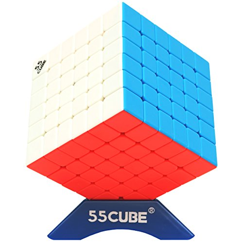 55cube 6x6 Cube Stickerless, New Structure - More Smoothly Than Original 6x6 Cube