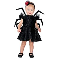 Disfraz de princesa bebé viuda de lujo, negro, 18M /2T