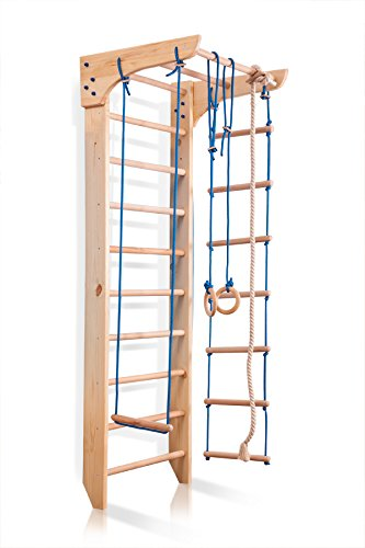 Amazon.com: Wood Stall Bar, Wall Bars, Swedish Ladder\