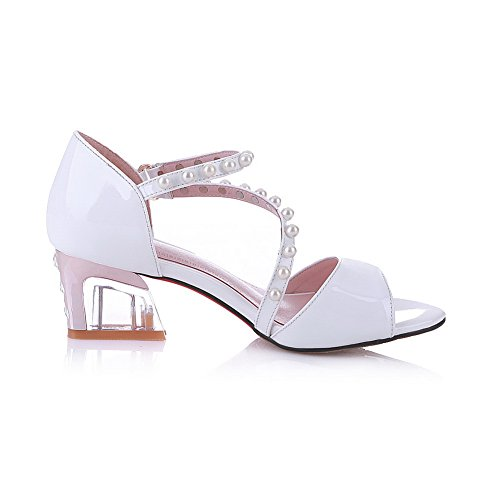 Inconnu 1TO9, Bout Ouvert Femme Blanc