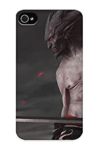 Caicf0UYWTO Snap On Case Cover Skin For Iphone 4/4s(fantasy Swords Demon )/ Appearance Nice Gift For Christmas