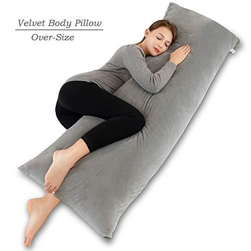 INSEN 55in Body Pillow-Full Body Pillow- Long Side Sleeping Body