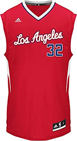 82aabed5022 ... 32 Blake Griffin Revolution 30 Swingman 2014 Christmas Day Red Jersey  Amazon.com NBA Los Angeles Clippers Blake Griffin Road Replica Jersey Red