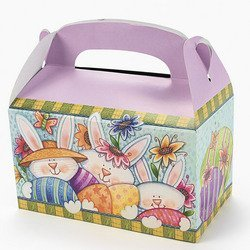Cardboard Easter Treat Boxes (Pack of - Easter Treat Box