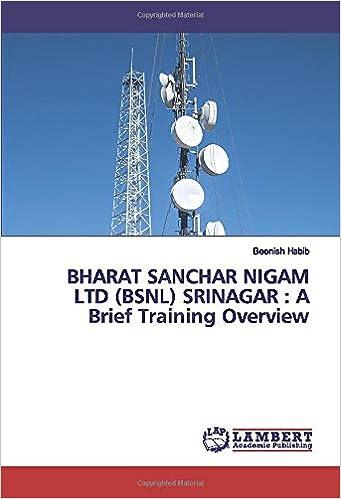 BHARAT SANCHAR NIGAM LTD BSNL SRINAGAR : A Brief Training ...