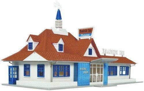 Restaurant Kit HO Scale Atlas Trains New (Ho Scale Roadside)