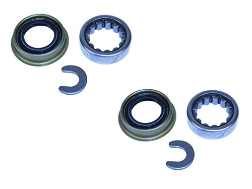 Complete Dana 35 Axle Bearing and Seal Kit Fits Jeep Cherokee XJ Wrangler TJ Grand Cherokee ZJ