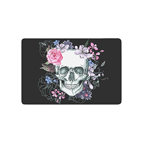 sugar skull door mat - 3