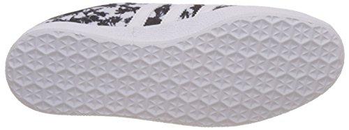 Baskets Og White White Adidas 36 footwear Eu Basses footwear Blanc Wei Black Femme Gazelle core qEFB15BTw
