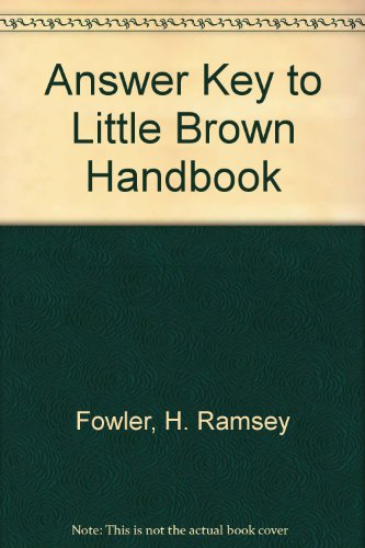Answer Key to The Little, Brown Handbook