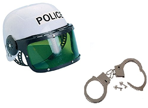 The Trendy Turtle Police Halloween Costume with Helmet and Handcuffs -