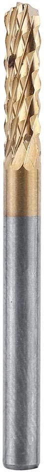 3.175mm Carbide End Mill 1//8 Shank T-itanium Coated CNC P-CB Engraving Bit 10pcs Router Bits