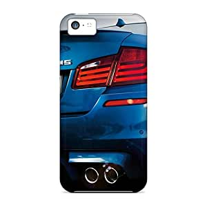New Premium Flip Case Cover Bmw M5 2012 Skin Case For Iphone 5c