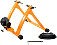Conquer Indoor Bike Trainer Exercise Stand (Orange)