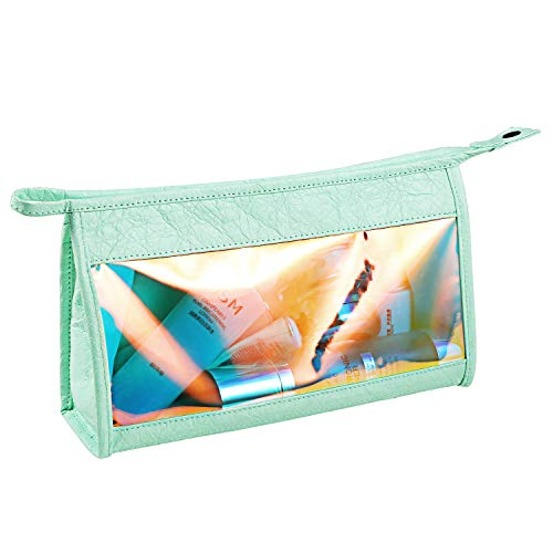 Transparent Travel Cosmetic Bag DuPont Paper Bag Waterproof Cosmetic Bag Multi-function Storage Bag Portable Cosmetic Bag Makeup Bag
