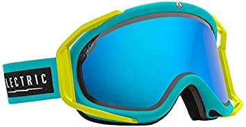 Electric Visual RIG Beach Bronze Blue Chrome Snow Goggle