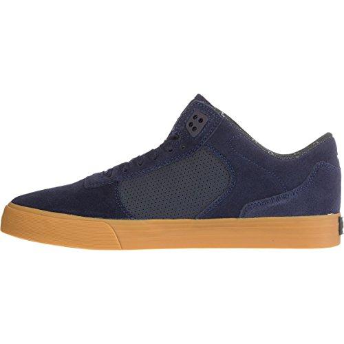 Scarpe Uomo Nero Marine Gum Supra Ellington Vulc Sneakers Homme Chaussures S27502-43
