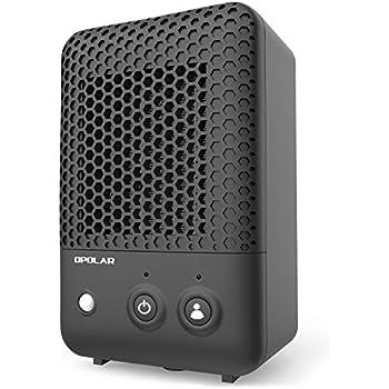 Amazon Com Opolar Mini Ceramic Heater With Infrared Human