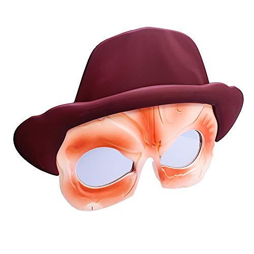 Costume Sunglasses Freddy Krueger Sun-Staches Party Favors -