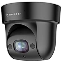 Amcrest ProHD Indoor WiFi PTZ (4x Optical Zoom) 1080P Wireless IP Camera, 98ft Night Vision, Pan/Tilt/4x Motorized Zoom , Wide 116° Viewing Angle, 2-Megapixel (1920TVL), Sentinel Wi-Fi, IP2M-846 Black