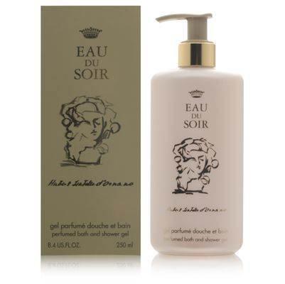 - Eau du Soir by Sisley for Women 8.4 oz Perfumed Bath and Shower Gel